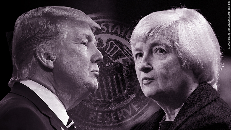 trump yellen fed