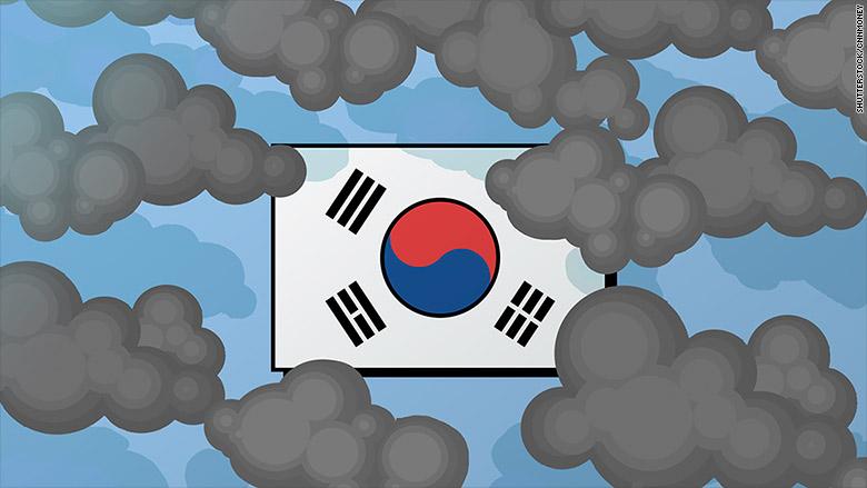 south korea economy troubles