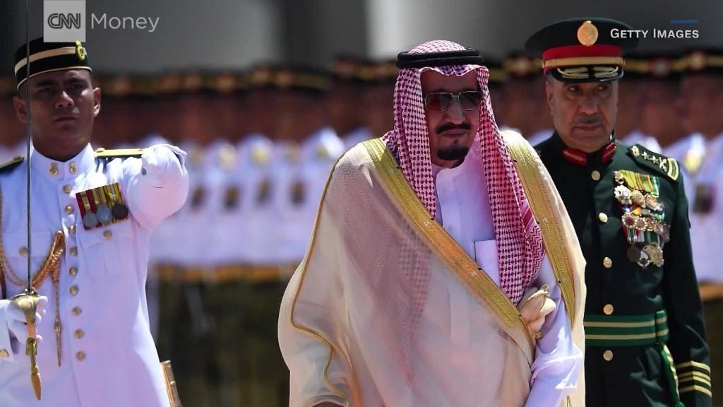 Saudi Arabia's King Salman tours Asia