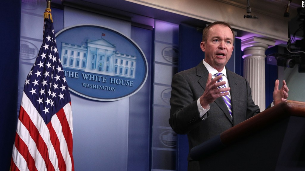 Trump's budget director claims Obama was 'manipulating' jobs data