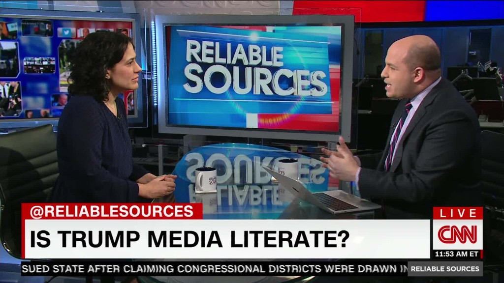 "Is Trump lacking ""media literacy?"""