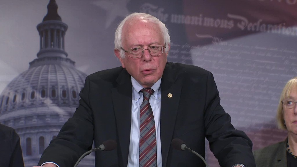 Sanders: Lack of paid family leave in U.S. is 'international disgrace'