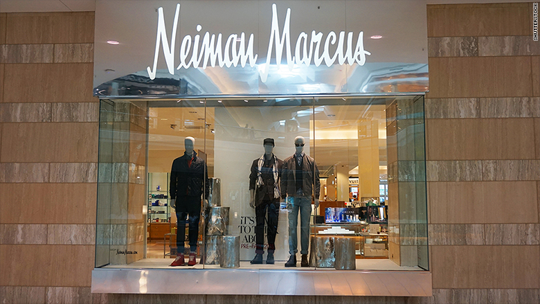 More trouble in the malls: Neiman Marcus puts itself up ...