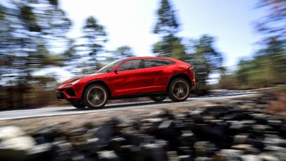 Lamborghini unveils world's fastest SUV