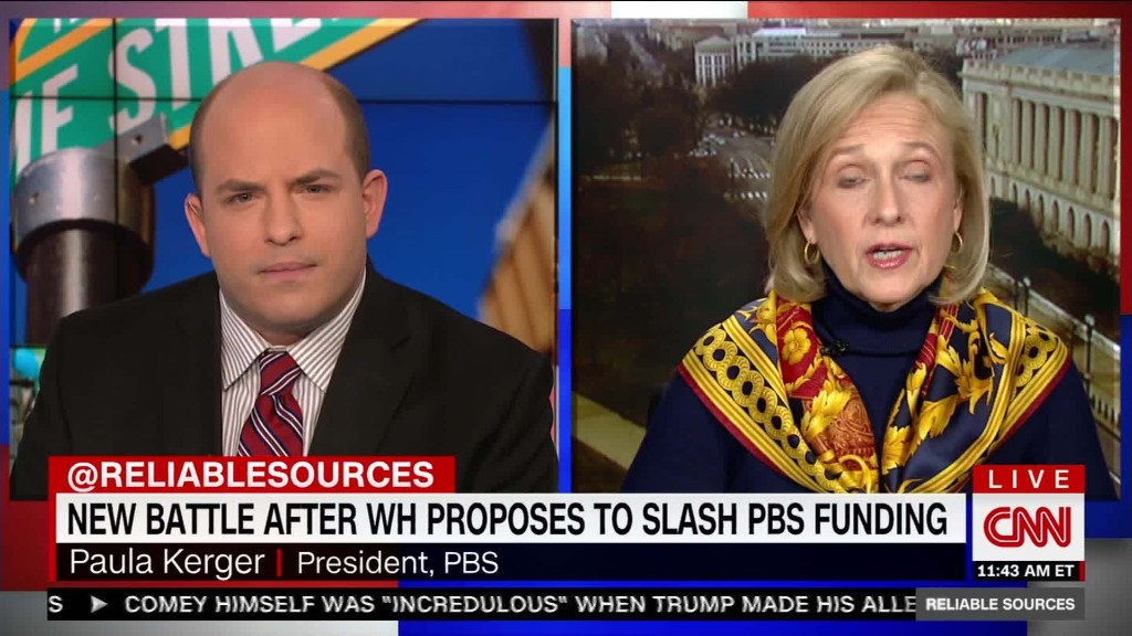 Why PBS says it needs federal funding