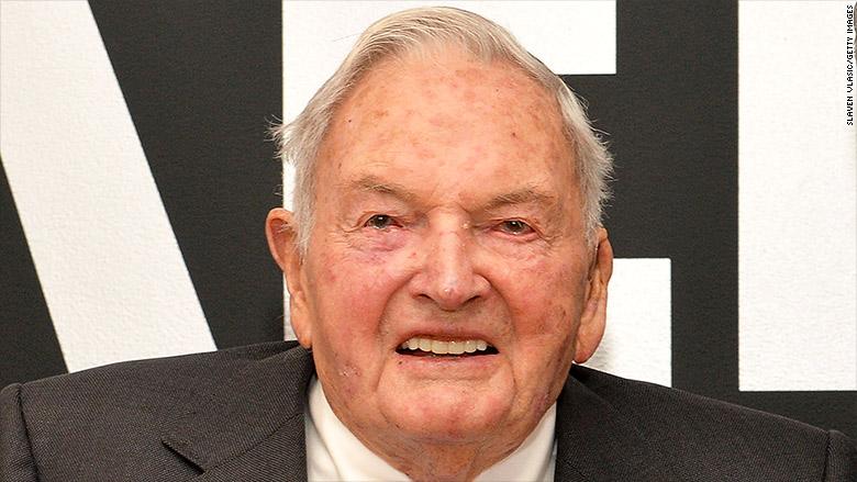 David Rockefeller Banker And Philanthropist Dies At 101