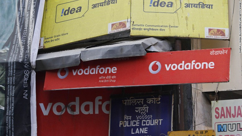vodafone idea india merger