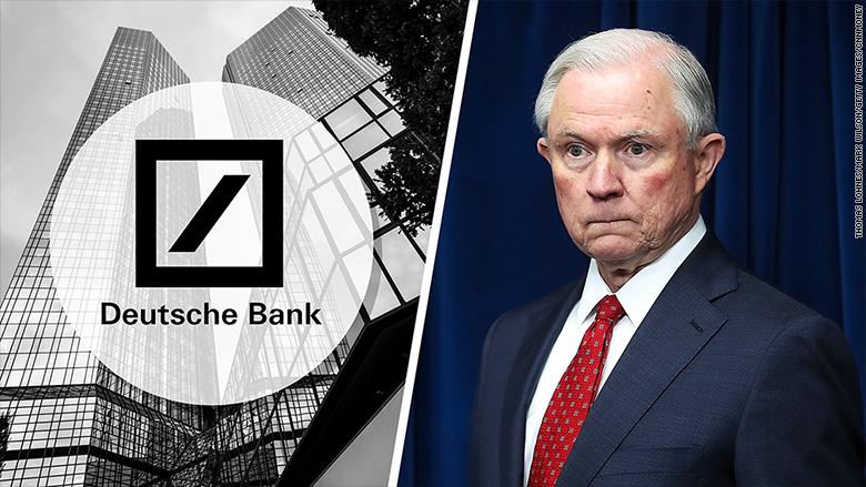 deutsche bank jeff sessions doj