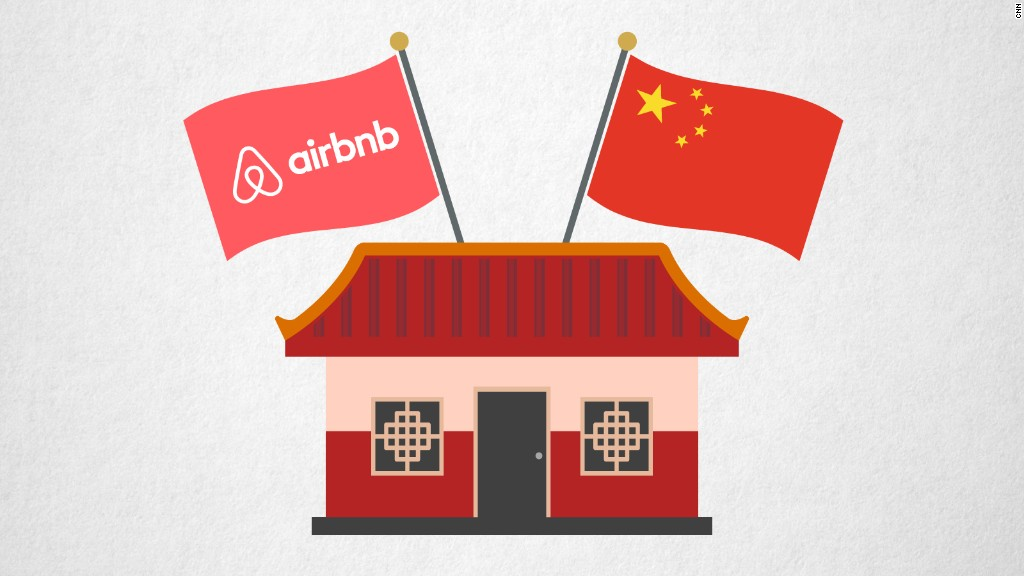 Airbnb makes a bigger push in China