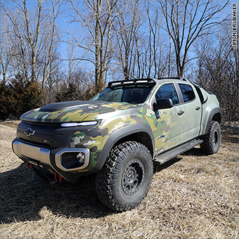 Chevy Military Trucks For Sale >> Gm S Super Quiet Super Cool Military 4x4