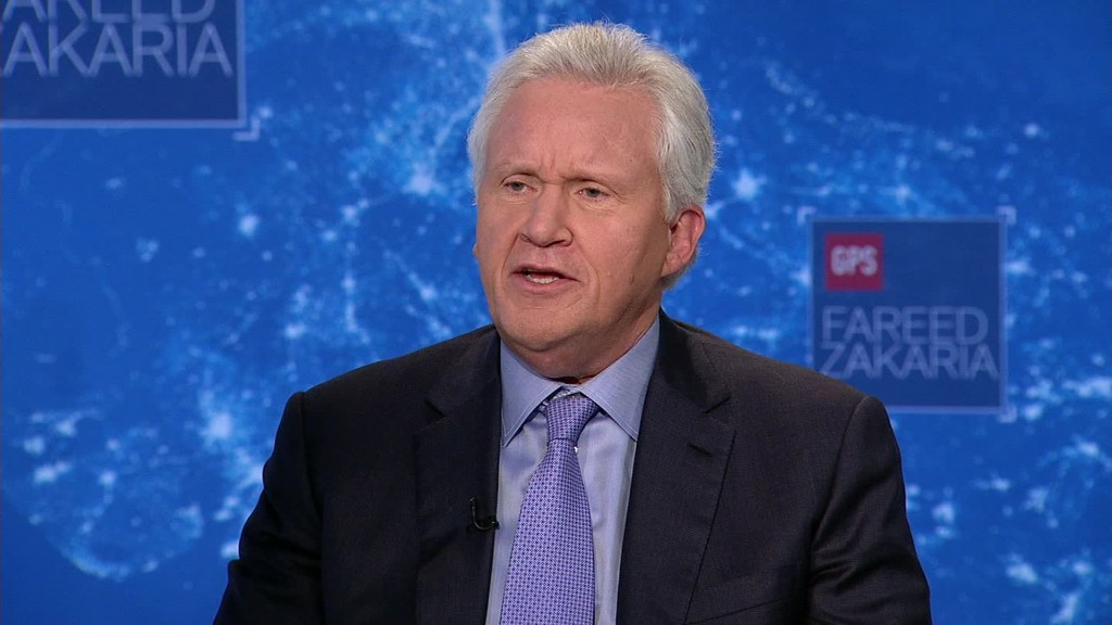 Immelt on his memos disagreeing with Trump