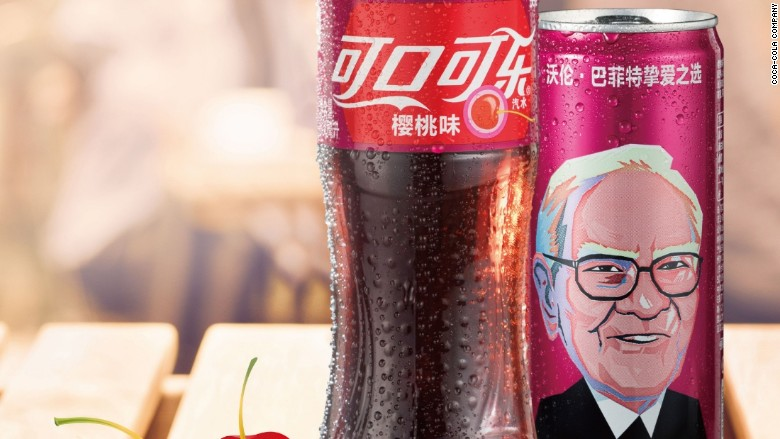 warren buffett cherry coke china