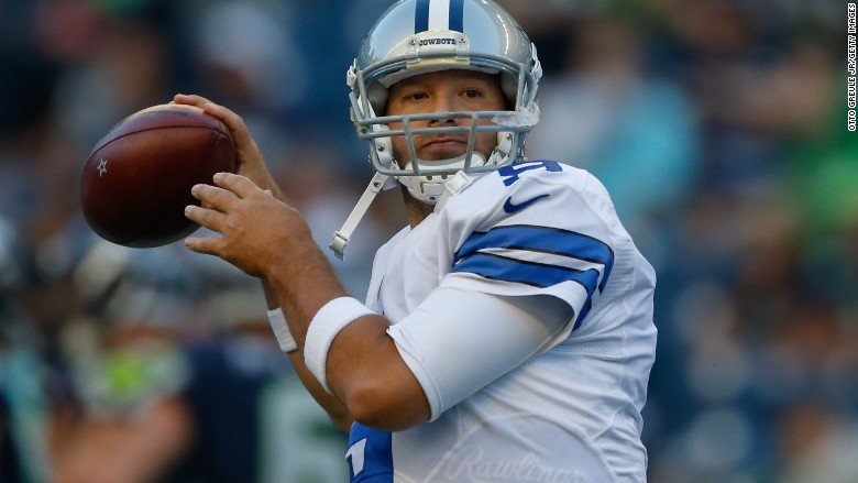 Tony Romo to take analyst job at CBS Sports