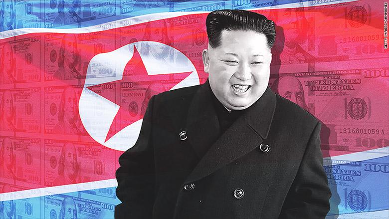 north korea kim jong un cash