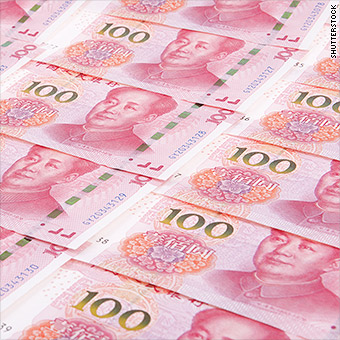 China says it will never use its currency as a weapon in the