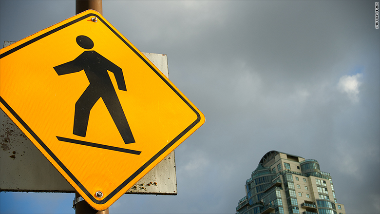 delaware pedestrian safety sign
