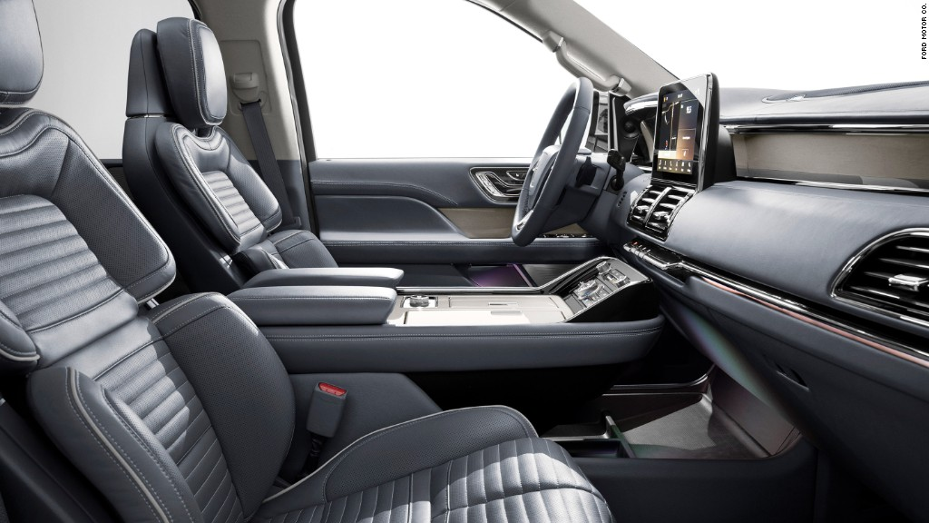 Lincoln Navigator wants to be your extra large happy place
