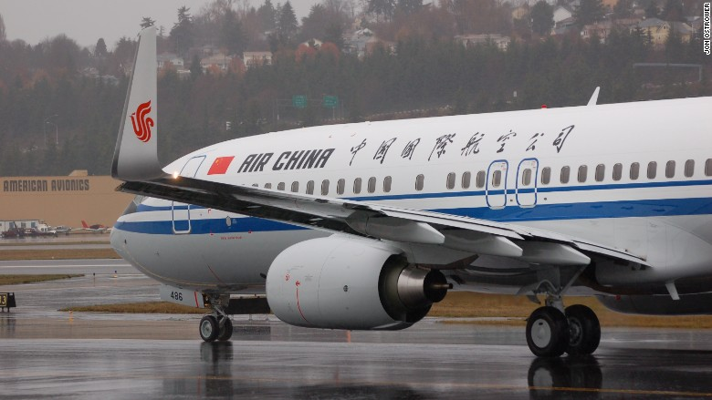 air china airline plane