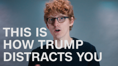 This is how Trump distracts you