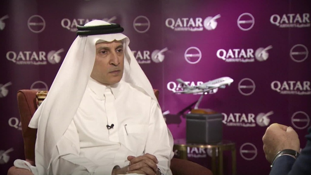 Qatar Airways CEO slams laptop ban