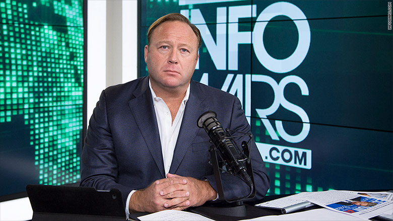 Facebook touts fight on fake news, but struggles to explain why InfoWars isn't banned