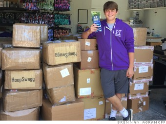 High schooler sells $1 million in custom socks