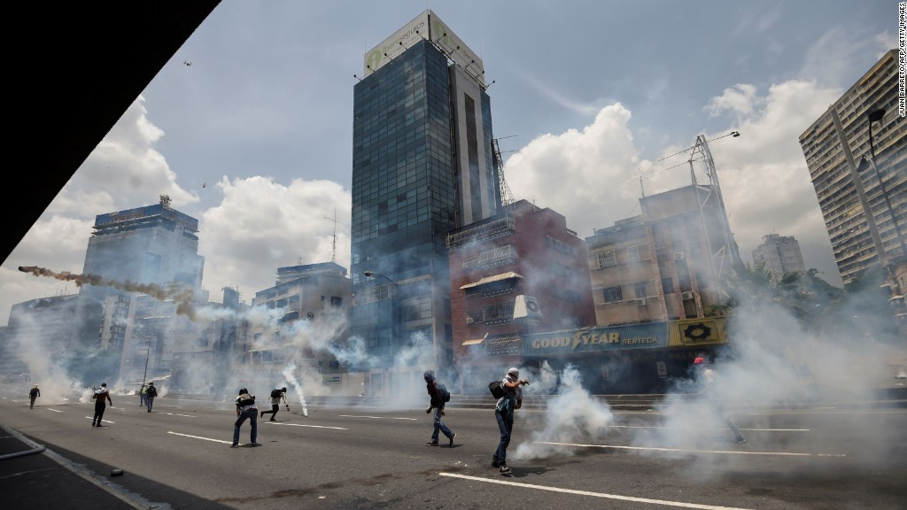Why Venezuelans are protesting