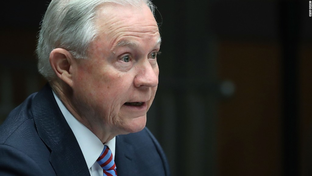 Sessions to rescind Obama-era marijuana policy