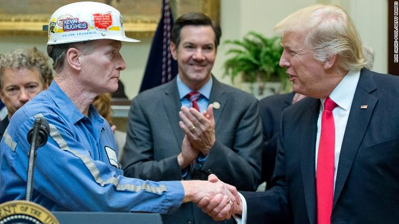 Trump coal promise