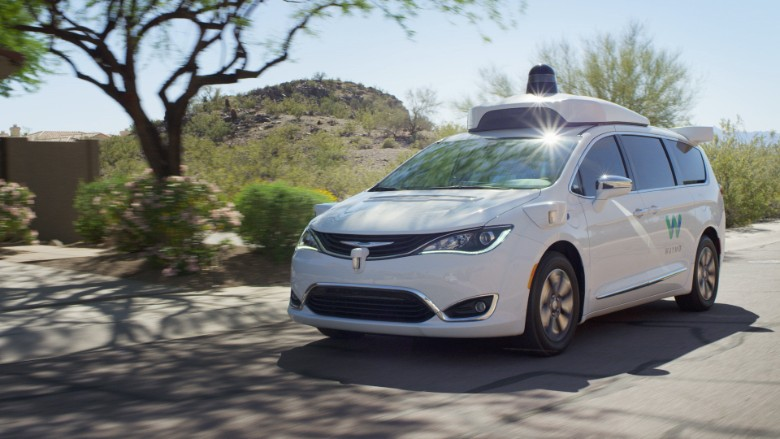 waymo self driving car gives free rides