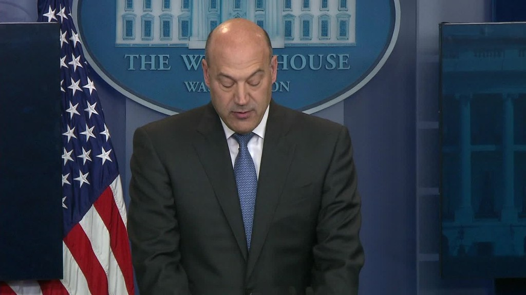 Cohn outlines Trump tax cuts