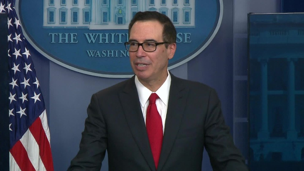 Mnuchin outlines 'massive' tax cut for businesses