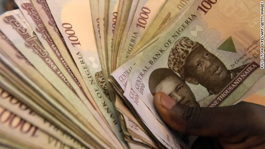 Nigeria S Cash Problem Multiple Exchange Rates Wild Swings And