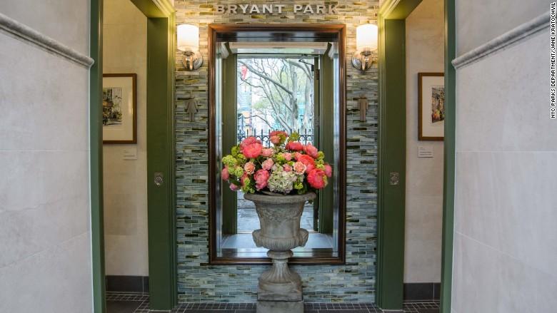 Bryant park bathroom