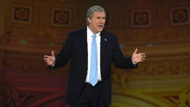 Will Ferrell returns as Bush for 'Not the White House Correspondents' Dinner'