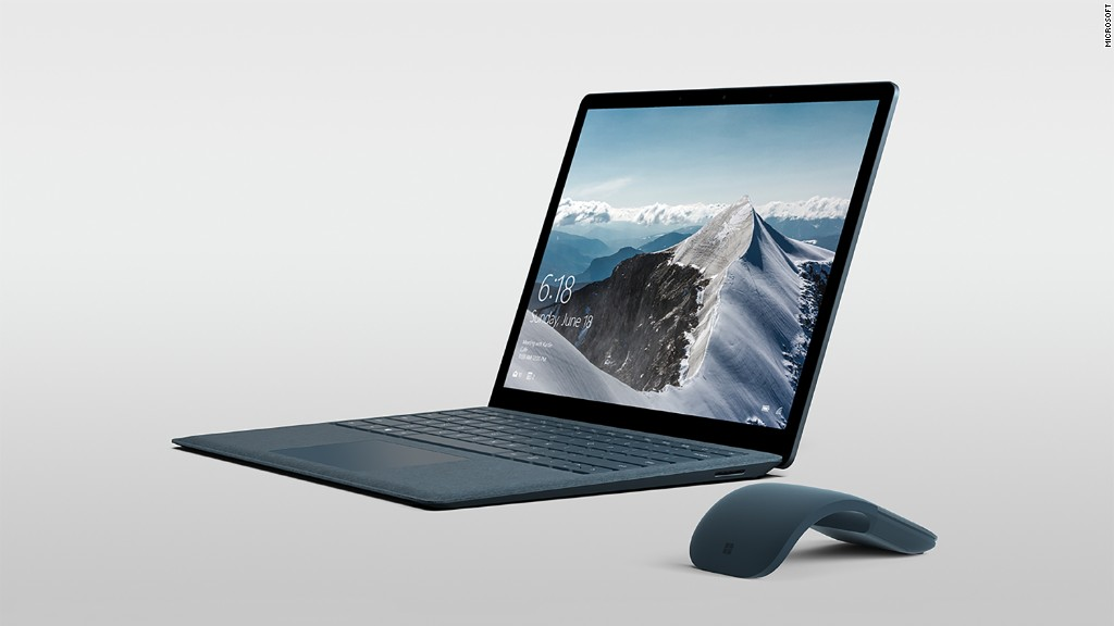 Microsoft unveils $999 Surface Laptop, Windows OS for students
