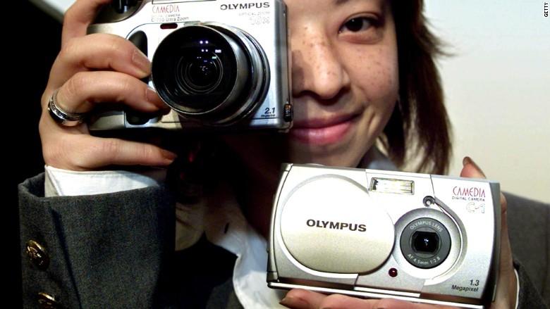 Olympus camera 2001