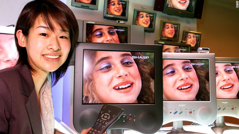 Sharp LCD television 2000
