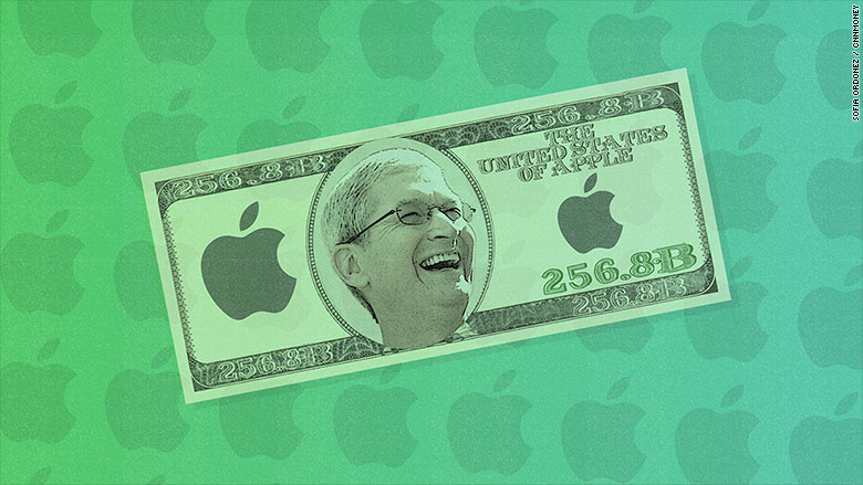 apple cash 256 billion