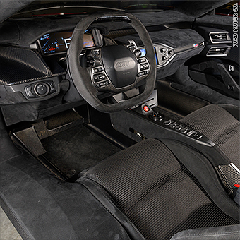 The Ford Gts Interior Is Pretty Much Straight Up Race Car