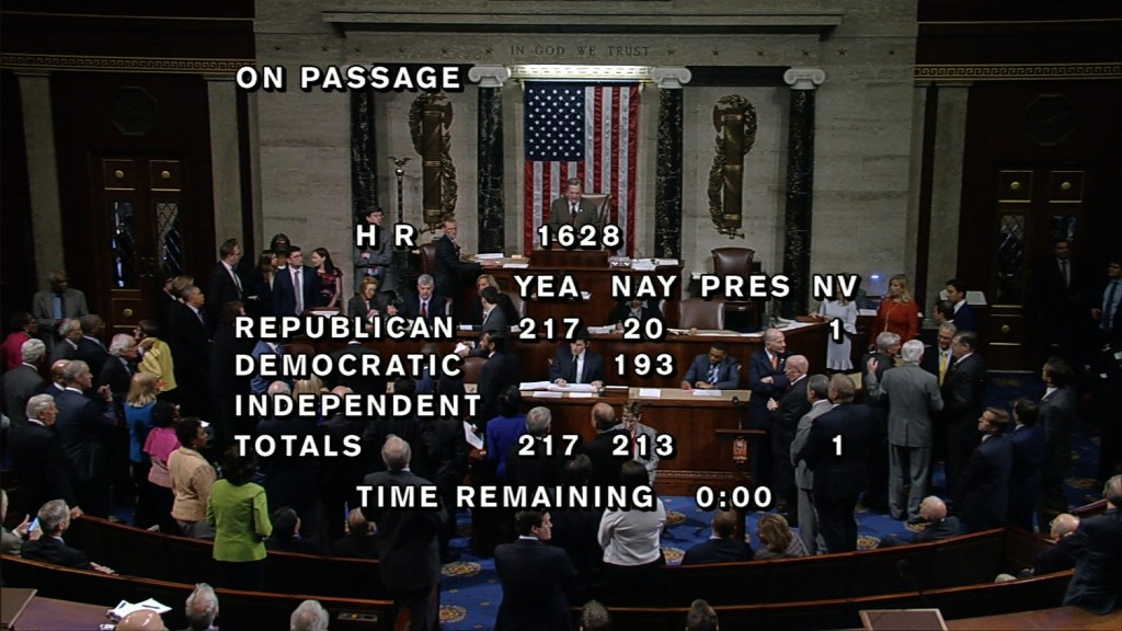 House passes bill to replace Obamacare