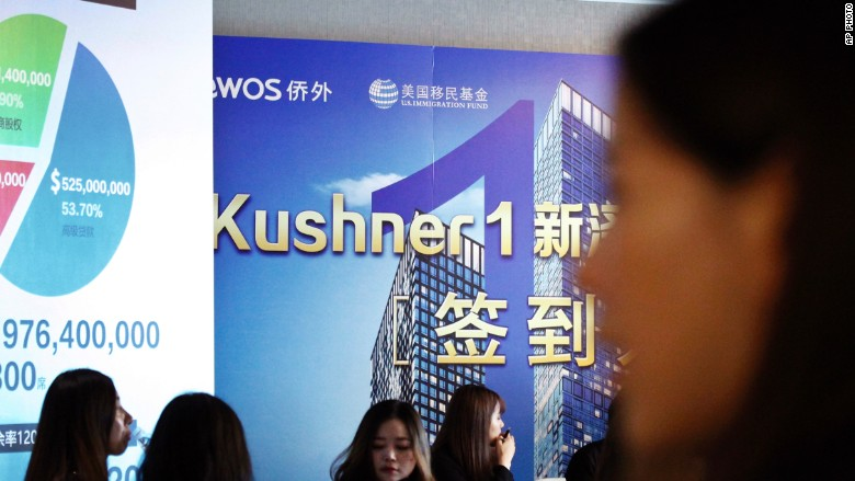 kushner companies china