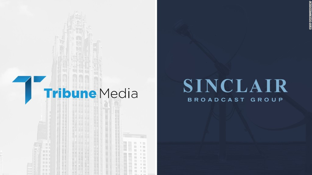 Sinclair to buy Tribune Media