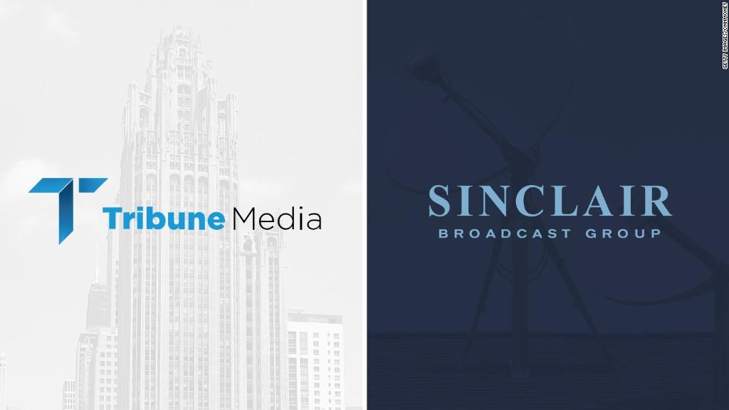Sinclair to buy Tribune Media