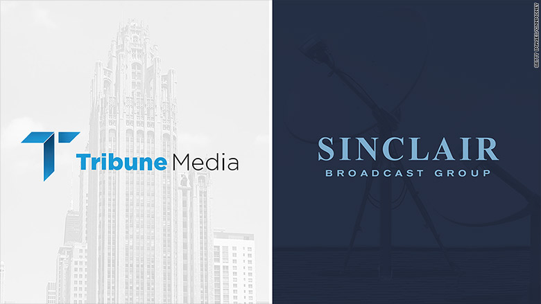 tribune media sinclair broadcasting