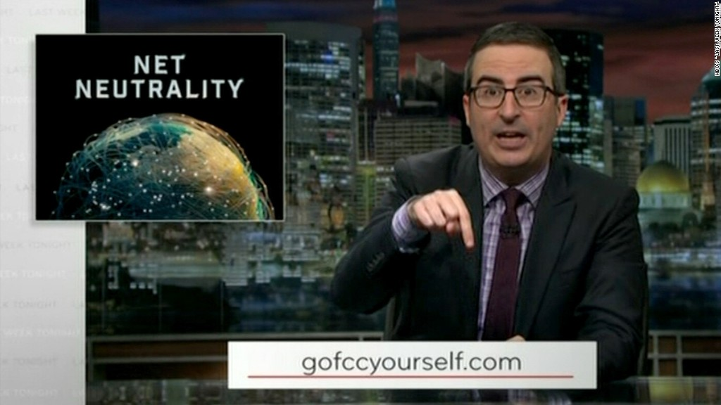 John Oliver herds viewers to FCC website