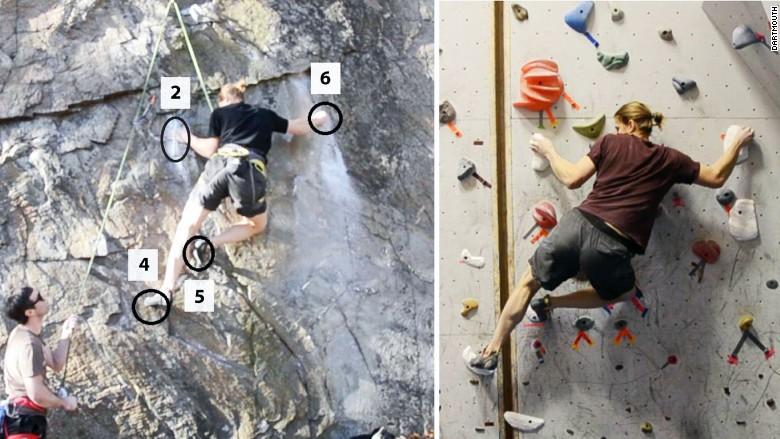 3d modeling rock climbing