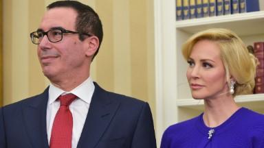 Treasury Secretary's fiancée is interim CEO of Dune Entertainment