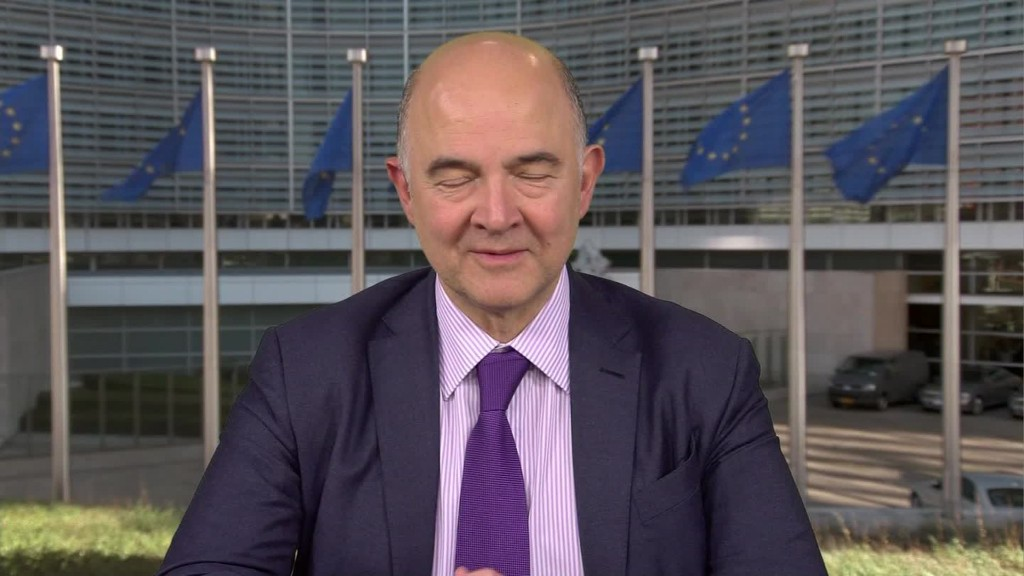 Pierre Moscovici: Macron's election positive for France and Europe
