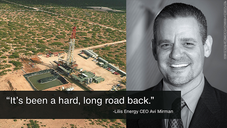 shale oil ceo lilis energy